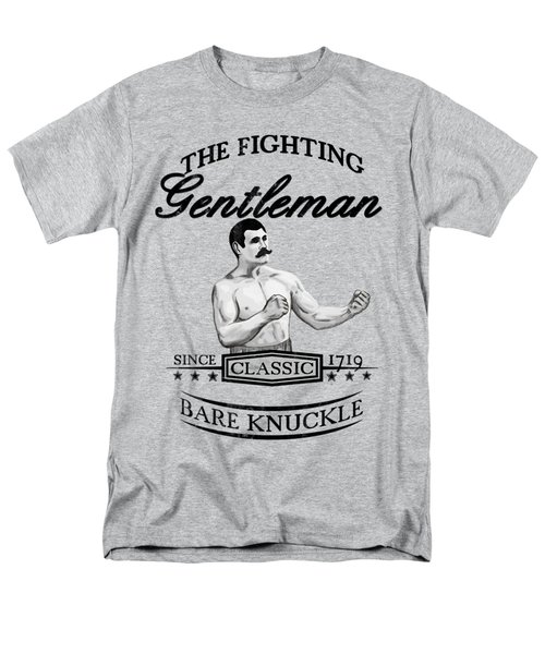 The Fighting Gentlemen Men's T-Shirt  (Regular Fit) by Nicklas Gustafsson