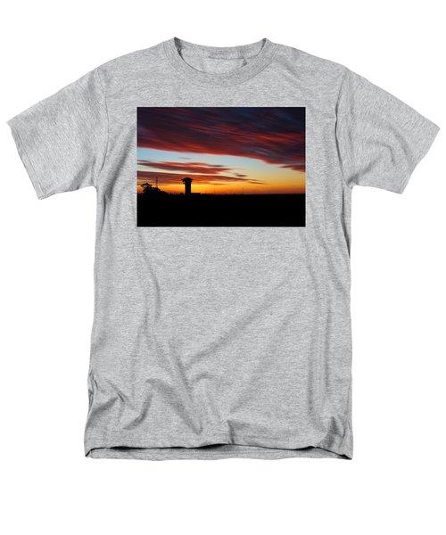 Sunrise Over Golden Spike Tower Men's T-Shirt  (Regular Fit) by Bill Kesler