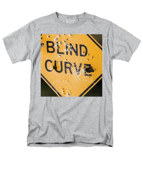 Blind Curve Men's T-Shirt  (Regular Fit) by Bill Kesler