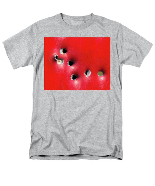 One Through The Back Men's T-Shirt  (Regular Fit) by Bill Kesler