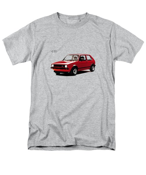 Vw Golf Gti 1976 Men's T-Shirt  (Regular Fit) by Mark Rogan
