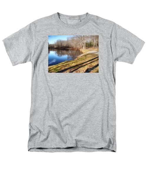 Men's T-Shirt  (Regular Fit) featuring the photograph Aslant by Betsy Zimmerli
