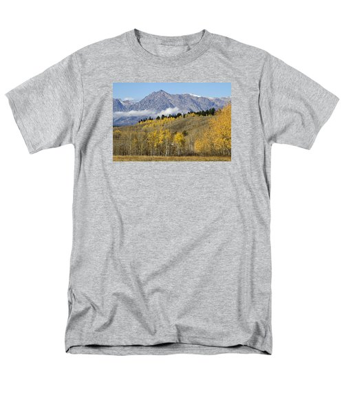 Men's T-Shirt  (Regular Fit) featuring the photograph Aspen Colours by Shirley Mitchell