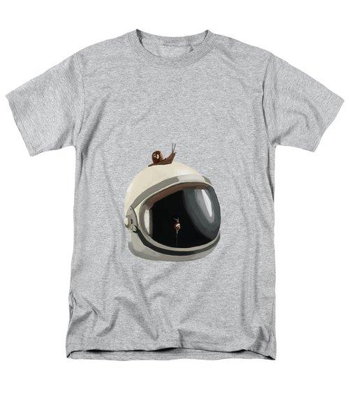 Astronaut's Helmet Men's T-Shirt  (Regular Fit) by Keshava Shukla