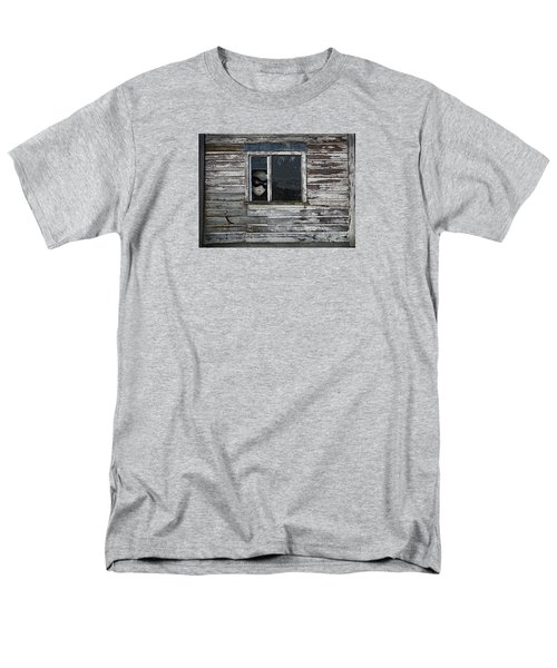 At The Window Men's T-Shirt  (Regular Fit) by Nareeta Martin
