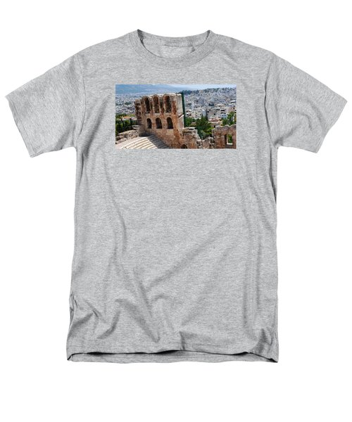 Men's T-Shirt  (Regular Fit) featuring the photograph Athens From Acropolis II by Robert Moss