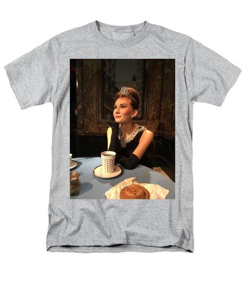Audrey Hepburn Men's T-Shirt  (Regular Fit) by Kay Gilley