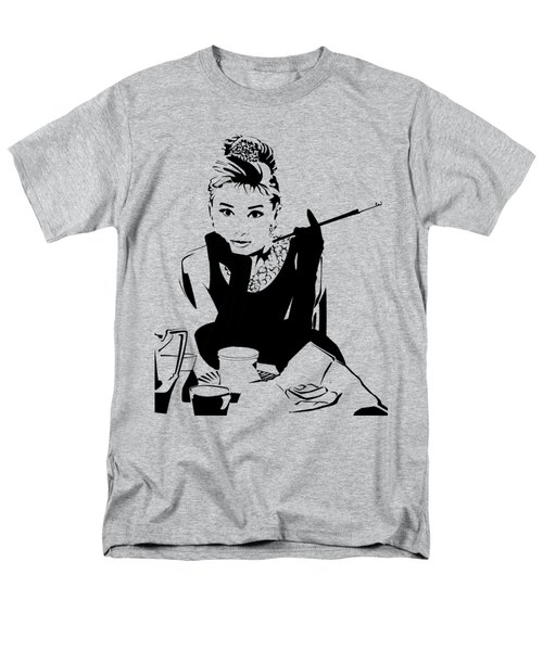 Audrey Hepburn Men's T-Shirt  (Regular Fit) by Ryan Burton