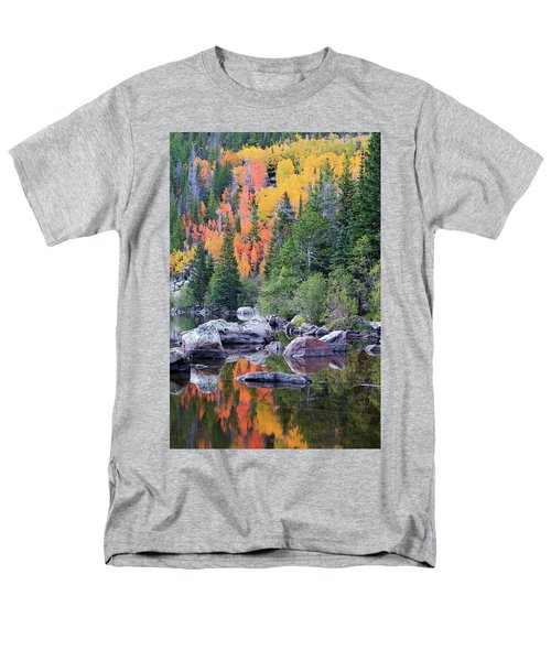 Autumn At Bear Lake Men's T-Shirt  (Regular Fit) by David Chandler