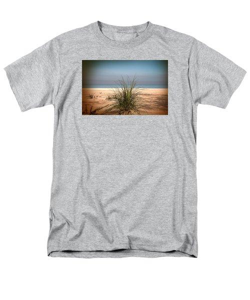Autumn Beach Men's T-Shirt  (Regular Fit) by Milena Ilieva