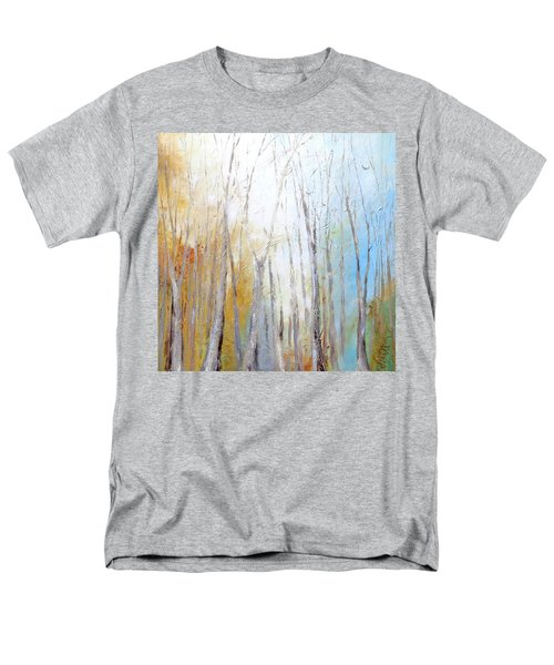 Men's T-Shirt  (Regular Fit) featuring the painting Autumn Bliss by Dina Dargo