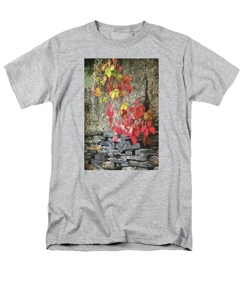 Men's T-Shirt  (Regular Fit) featuring the photograph Autumn Leaves by Tom Singleton