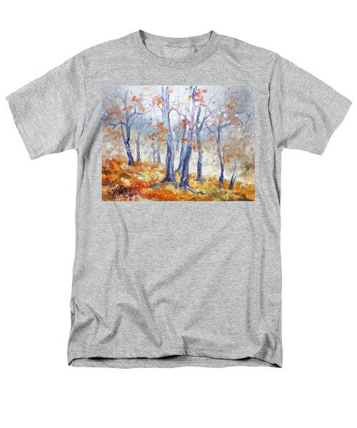 Autumn Mist - Morning Men's T-Shirt  (Regular Fit) by Irek Szelag