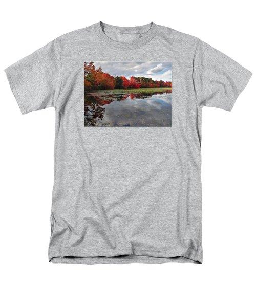 Autumn Reflections Men's T-Shirt  (Regular Fit) by Mikki Cucuzzo
