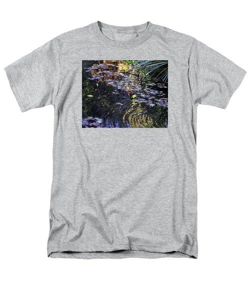 Autumn Ripples Men's T-Shirt  (Regular Fit) by Linda Geiger