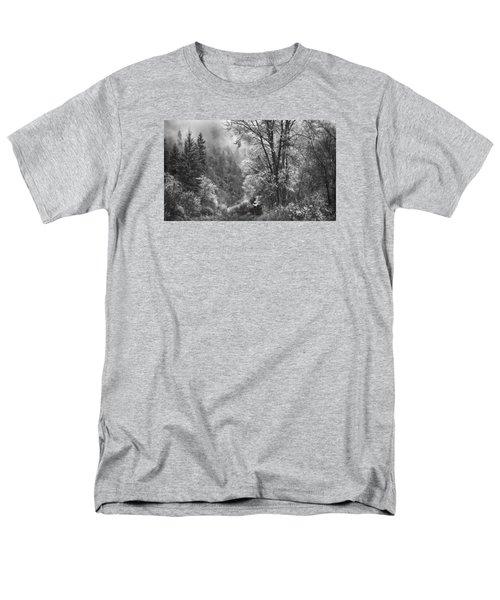 Autumn Sparkles On Green Mountain Men's T-Shirt  (Regular Fit) by John Poon