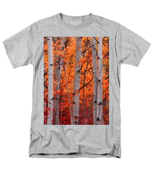Autumn Splendor Men's T-Shirt  (Regular Fit) by Don Schwartz