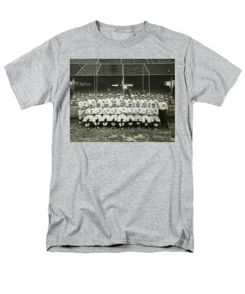 Babe Ruth Providence Grays Team Photo Men's T-Shirt  (Regular Fit) by Jon Neidert