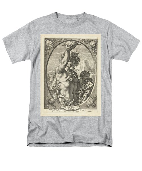 Bacchus God Of Ectasy Men's T-Shirt  (Regular Fit)