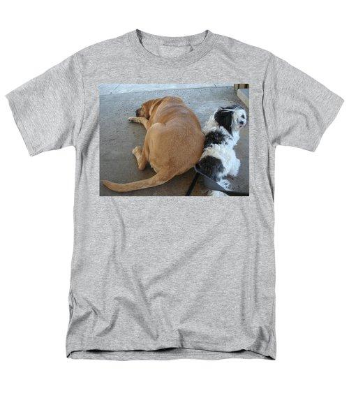 Back To Back Men's T-Shirt  (Regular Fit) by Val Oconnor