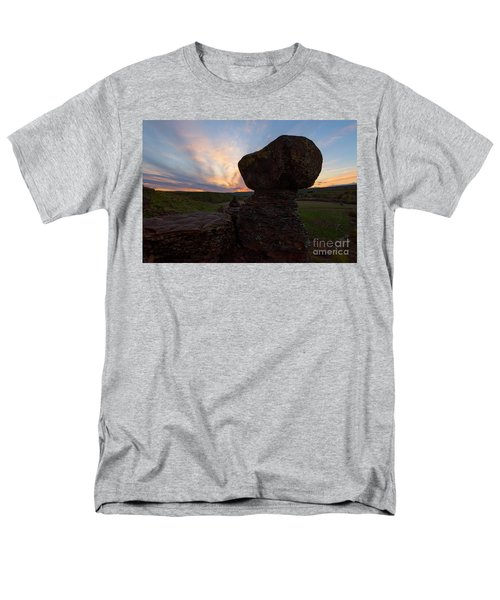 Men's T-Shirt  (Regular Fit) featuring the photograph Balanced by Mike Dawson