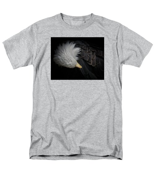 Bald Eagle Cleaning Men's T-Shirt  (Regular Fit) by Ernie Echols