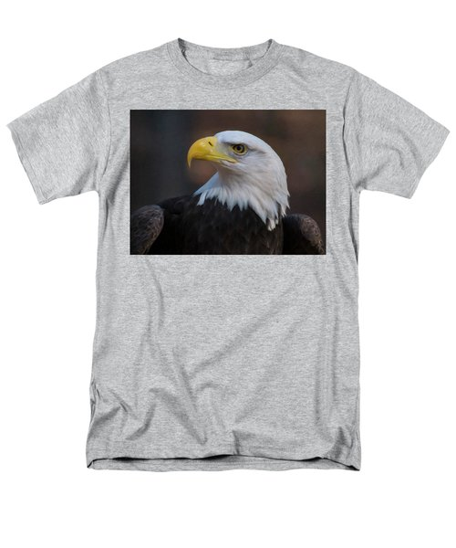 Men's T-Shirt  (Regular Fit) featuring the digital art Bald Eagle Painting by Chris Flees