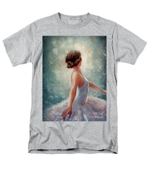 Ballerina Dazzle Men's T-Shirt  (Regular Fit)