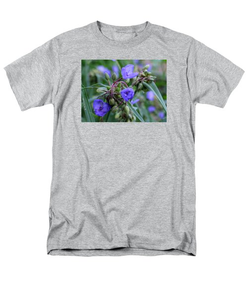 Balmy Blue Men's T-Shirt  (Regular Fit) by Michiale Schneider