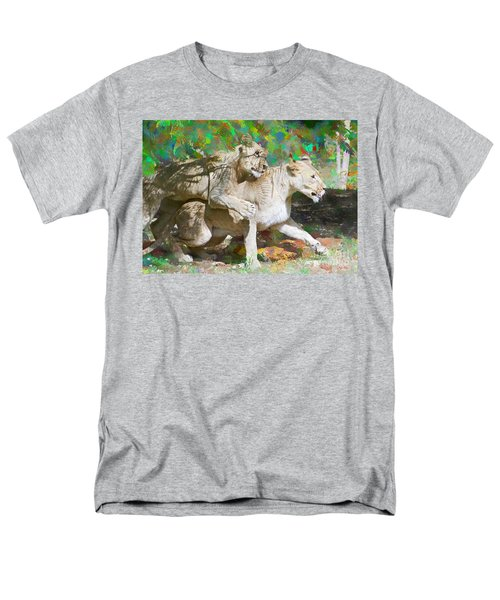 Men's T-Shirt  (Regular Fit) featuring the painting Bare Back by Judy Kay