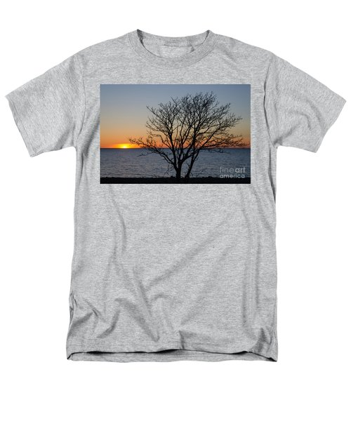 Bare Tree At Sunset Men's T-Shirt  (Regular Fit) by Kennerth and Birgitta Kullman