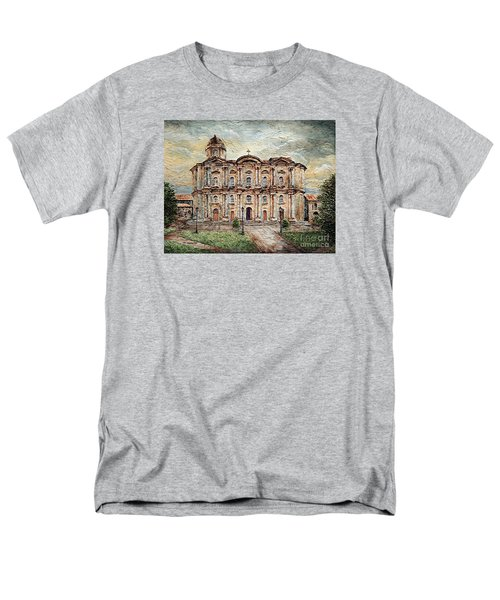 Basilica De San Martin De Tours Men's T-Shirt  (Regular Fit) by Joey Agbayani
