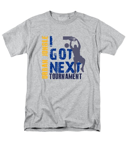 Basketball I Got Next 2 Men's T-Shirt  (Regular Fit) by Joe Hamilton