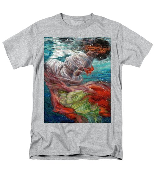 Men's T-Shirt  (Regular Fit) featuring the painting Batyam by Mia Tavonatti
