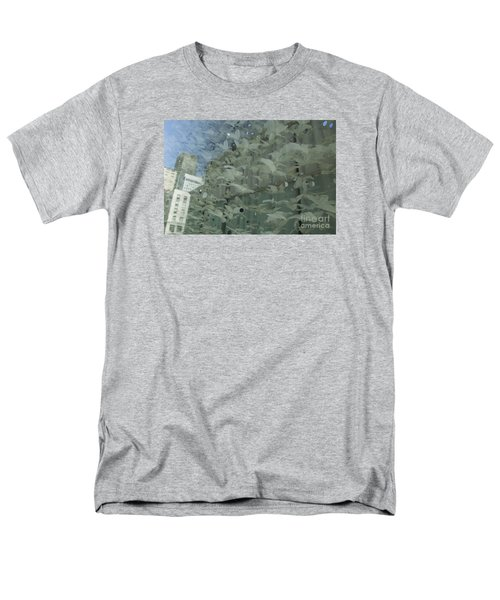 Men's T-Shirt  (Regular Fit) featuring the photograph Bay City Reflections by Jeanette French