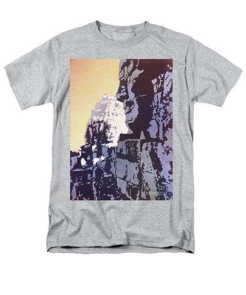 Bayon Temple- Angkor Wat, Cambodia Men's T-Shirt  (Regular Fit) by Ryan Fox