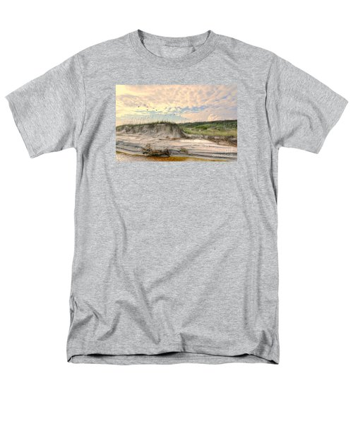 Beach Dunes And Gulls Men's T-Shirt  (Regular Fit) by Kathy Baccari