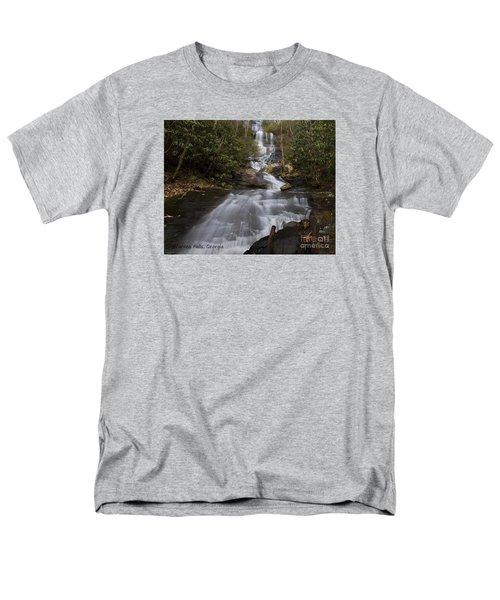 Men's T-Shirt  (Regular Fit) featuring the photograph Bearden Falls by Barbara Bowen
