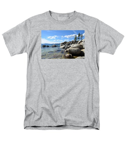 Beautiful Day At Lake Tahoe Men's T-Shirt  (Regular Fit) by Alex King