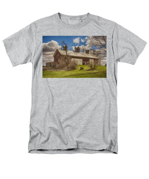 Men's T-Shirt  (Regular Fit) featuring the photograph Beautiful Old Barn by JRP Photography