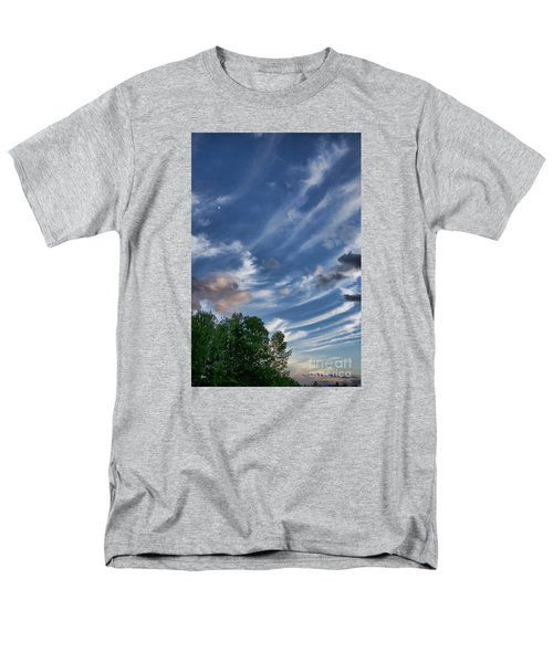Men's T-Shirt  (Regular Fit) featuring the photograph Beautiful Sky by Alana Ranney