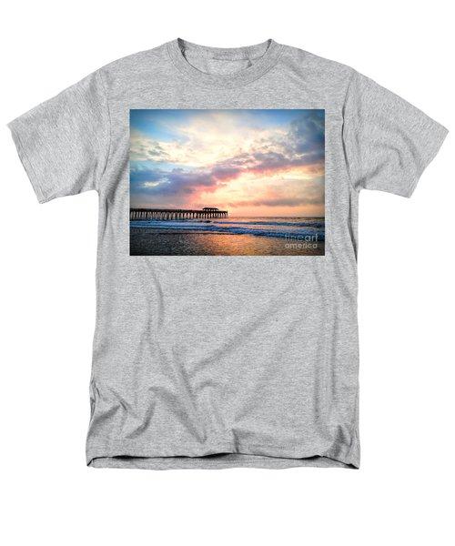 Beautiful Sunrise In Myrtle Beach South Carolina Usa Men's T-Shirt  (Regular Fit) by Vizual Studio