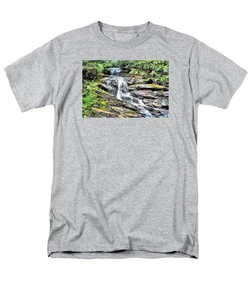 Becky Branch Falls In Summer Men's T-Shirt  (Regular Fit) by James Potts