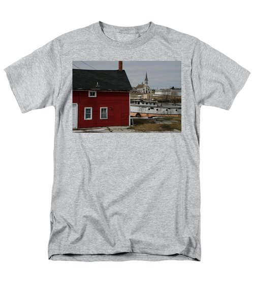 Men's T-Shirt  (Regular Fit) featuring the photograph Becoming A Part Of A By-gone Era by Janice Adomeit