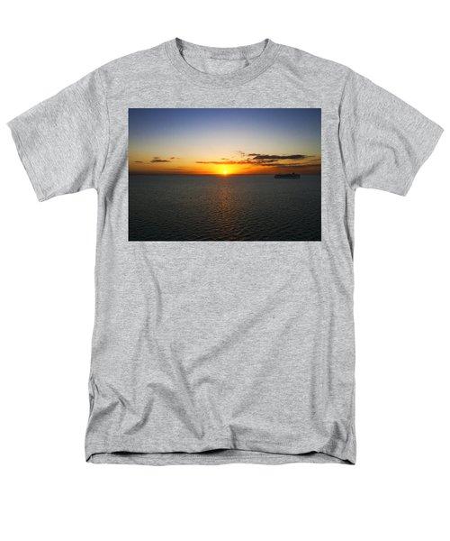 Belize Sunset Men's T-Shirt  (Regular Fit) by Marlo Horne