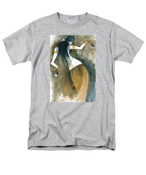 Men's T-Shirt  (Regular Fit) featuring the painting Inspired By Zoe Jakes by Maya Manolova