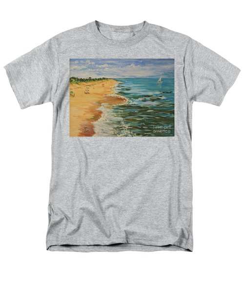 Beloved Beach - Sold Men's T-Shirt  (Regular Fit) by Judith Espinoza