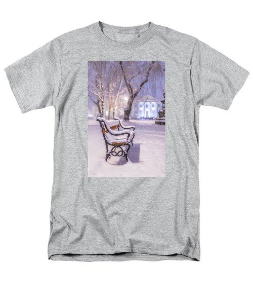 Bench Men's T-Shirt  (Regular Fit) by Jaroslaw Grudzinski