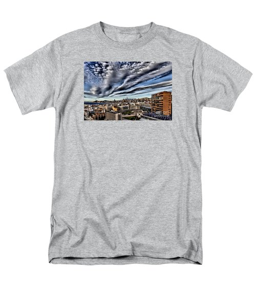 Benidorm Old Town Aerial View Men's T-Shirt  (Regular Fit) by Mick Flynn