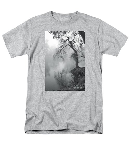 Men's T-Shirt  (Regular Fit) featuring the photograph Bent With Gentleness And Time by Linda Lees